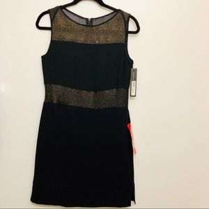 Marc New York Sheer Mesh Yoke Chemise Dress Size 4